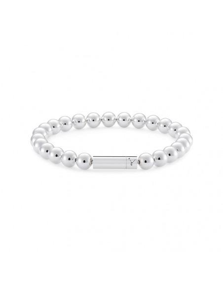 Bracelet Beads 47 Grammes argent lisse poli