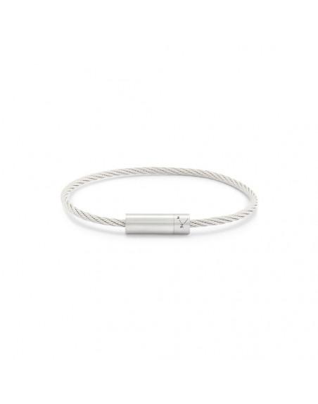 Bracelet Câble 9 Grammes argent lisse brossé