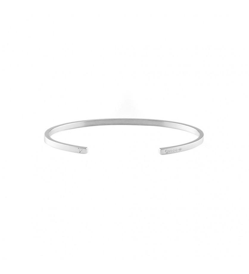 Bracelet Ruban 7 Grammes argent lisse poli, taille M