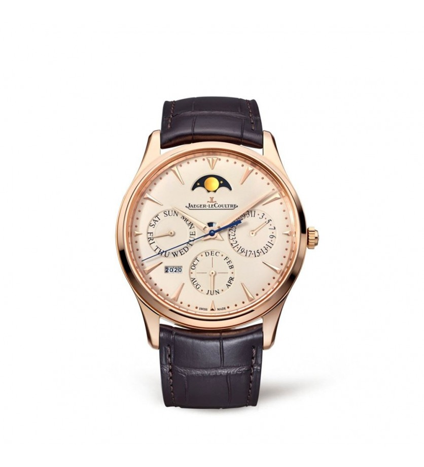 Montre Master Ultra Thin Calendrier Perpetuel or rose