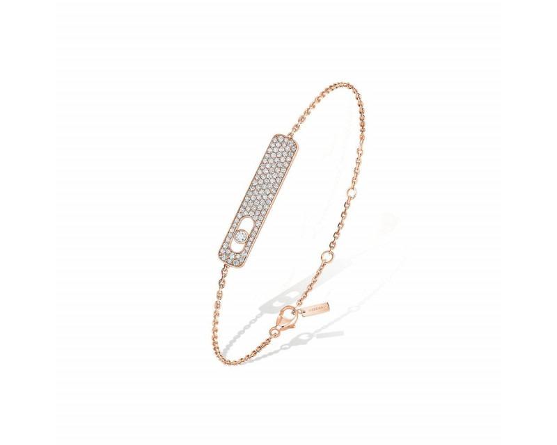 MESSIKA Bracelet My First Diamond or rose pavé diamants