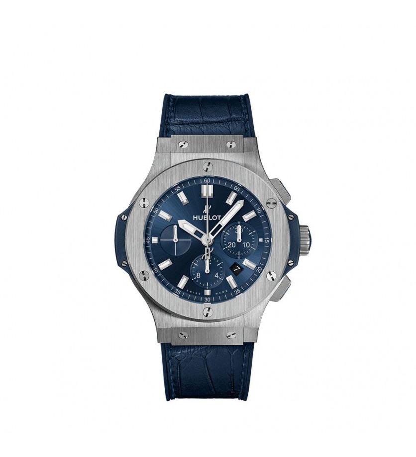 Montre HUBLOT Big Bang chronographe Steel Blue