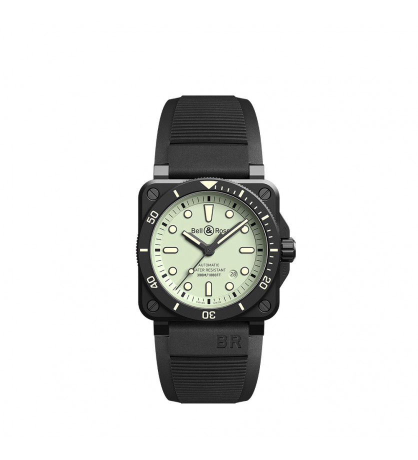 Montre BELL & ROSS BR0392 Diver Full Lum