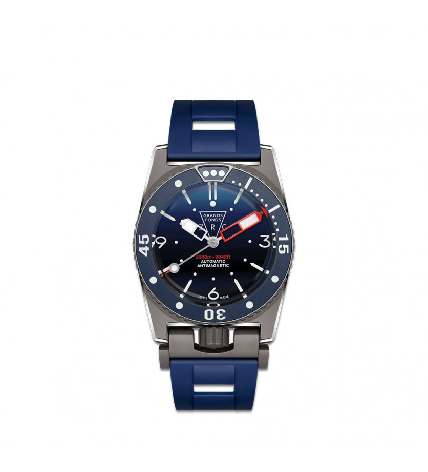 Montre ZRC Grand Fond Deep Blue Project
