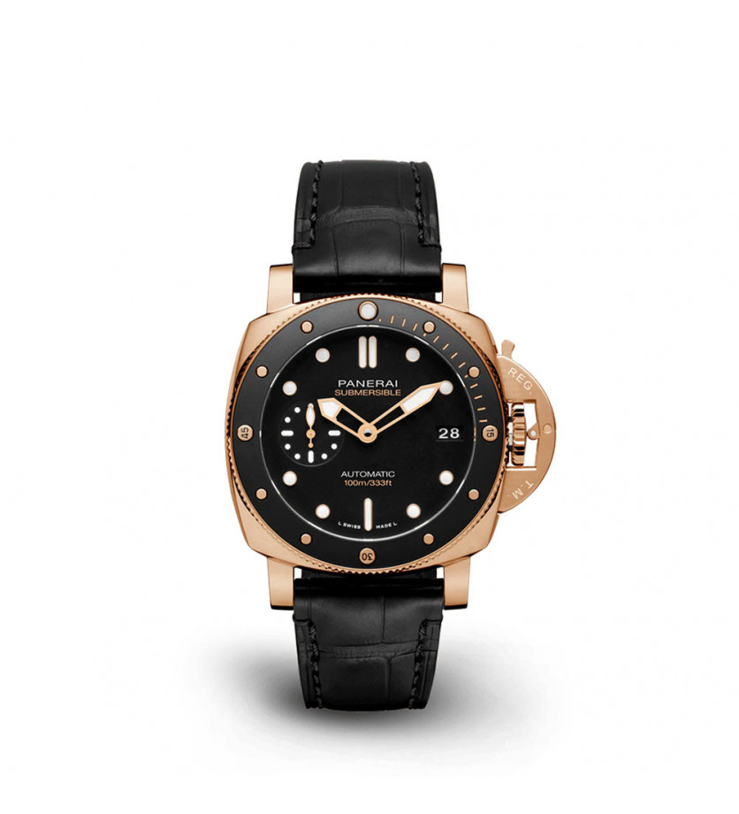 Montre Submersible Or Rouge 42 mm