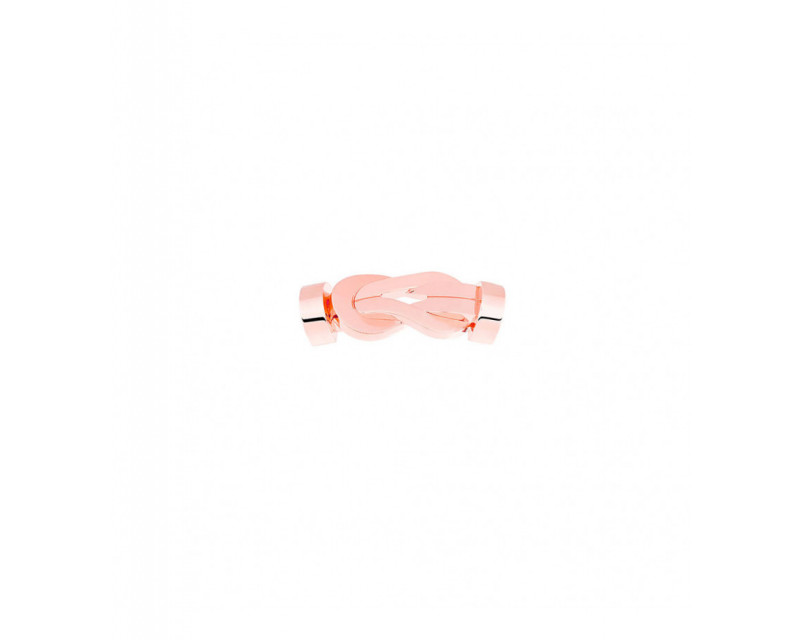 Boucle Chance Infinie MM or rose