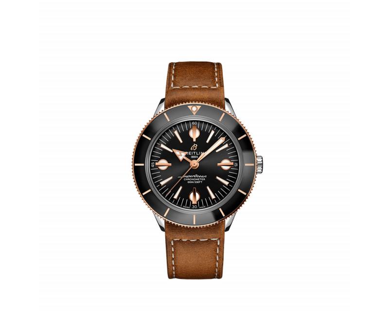 Montre Superocean Heritage Automatic 57 42mm bracelet veau