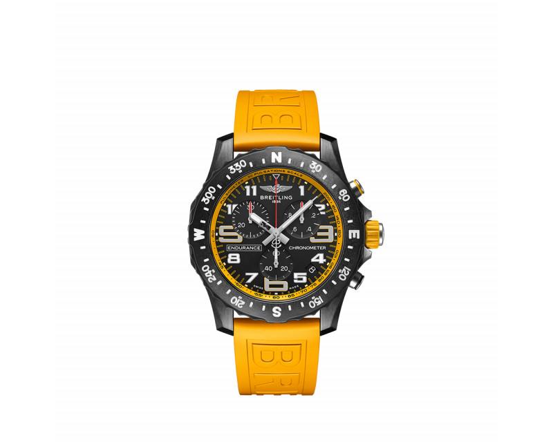 Montre Endurance Pro SuperQuartz 44mm bracelet jaune