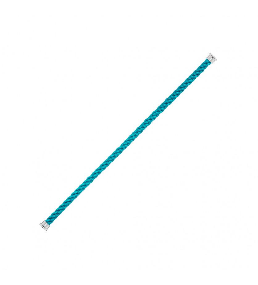 Cable Force 10 GM corderie bleu jean embouts aciers