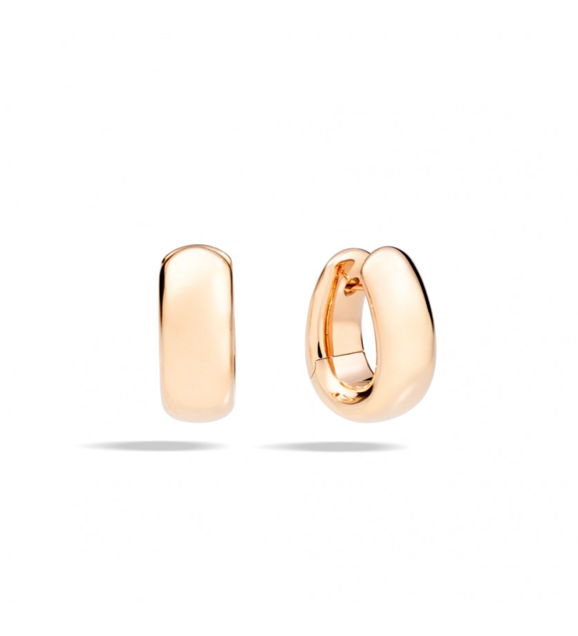 POMELLATO Boucles d'oreilles Iconica or rose