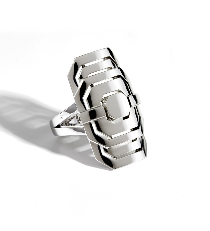 STATEMENT Bague d'index My Way argent sterling 925