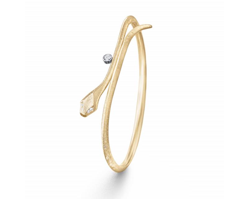 Bracelet jonc Snake