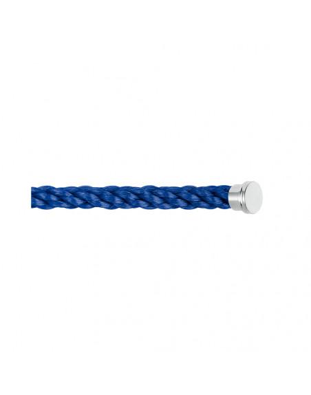 Câble Force 10 GM corderie bleu indigo embouts acier
