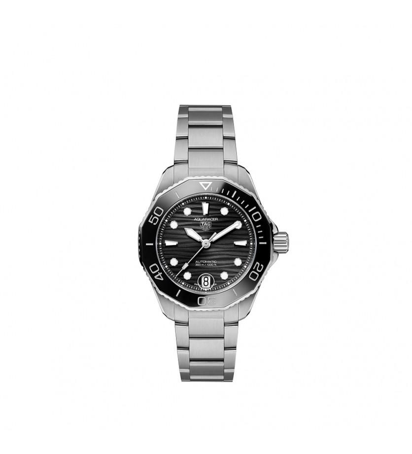 Montre Aquaracer Professional 300, 36 mm Acier Cadran noir