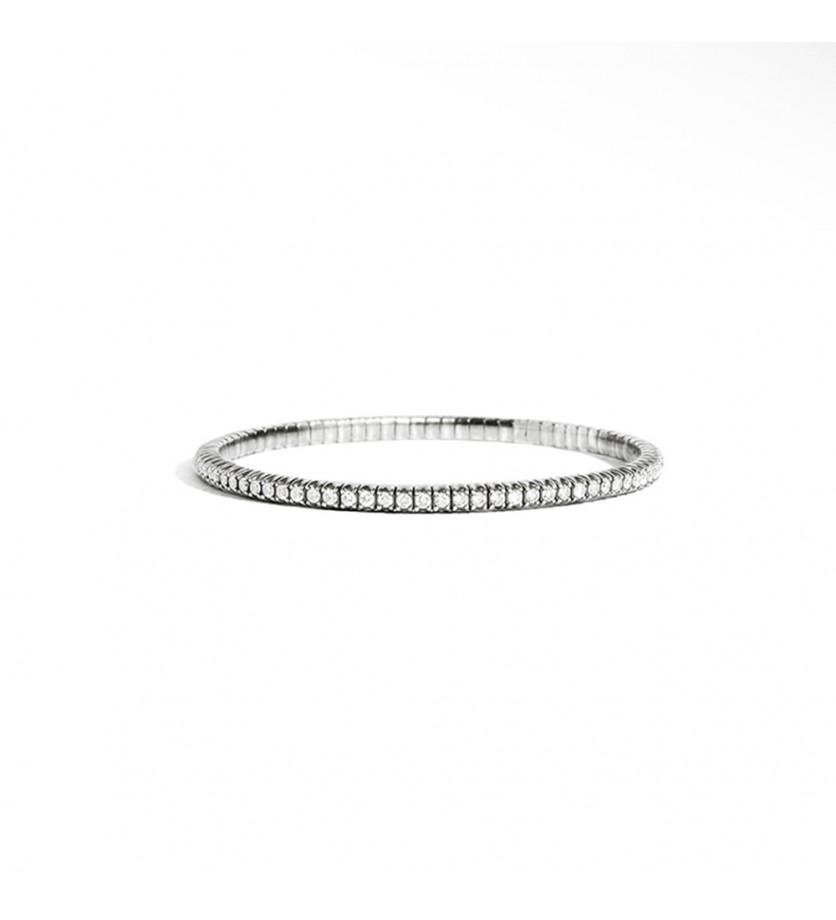Bracelet Anyway argent diamants