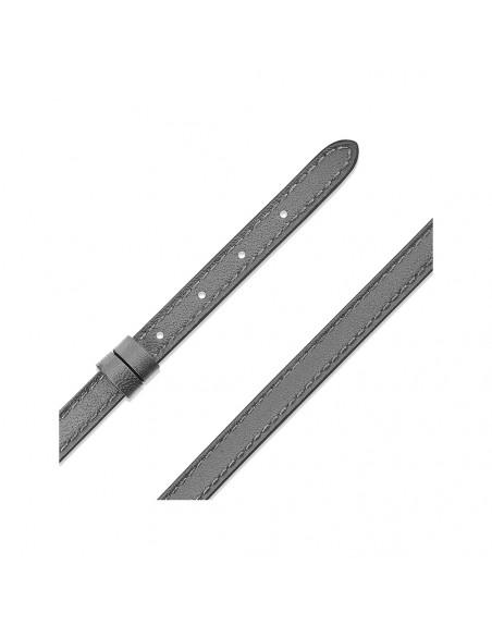 Bracelet veau My Move gris graphite taille L