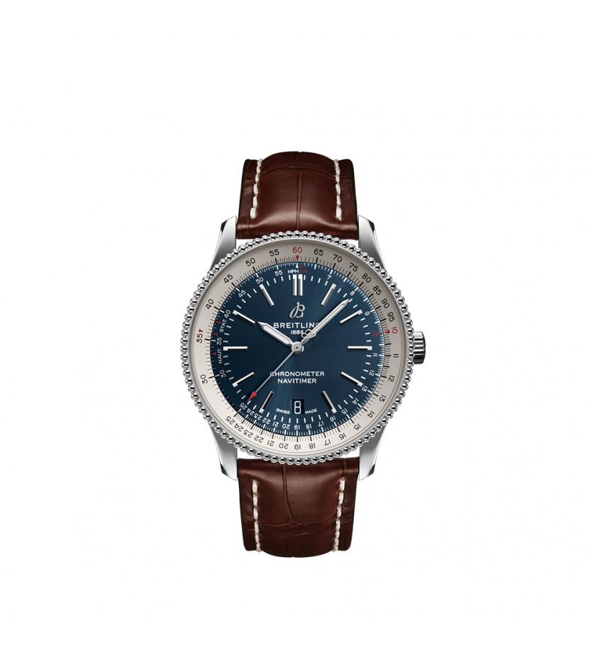 Montre Navitimer Automatic 41 bracelet en cuir