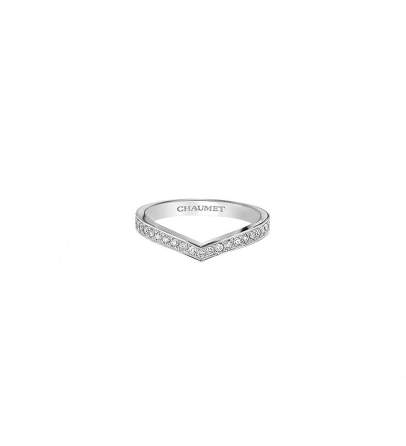 Alliance Joséphine Aigrette platine diamants