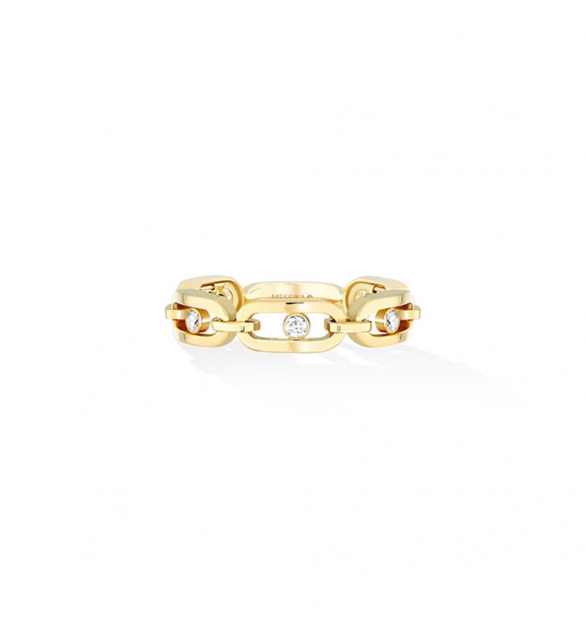 Bague Move Uno Multi or jaune diamants