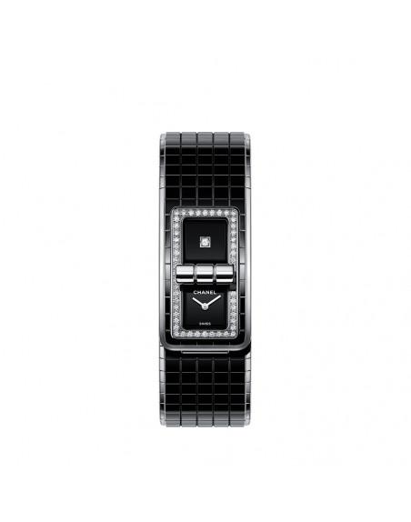 Montre Code Coco 38mm Quartz Acier Diamants