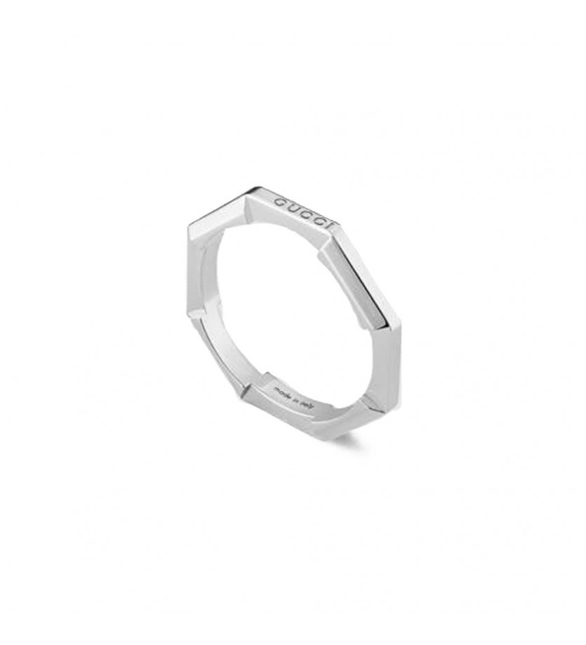 Bague Link to Love or blanc