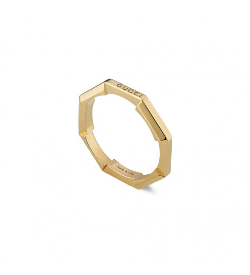 Bague Link to Love or jaune