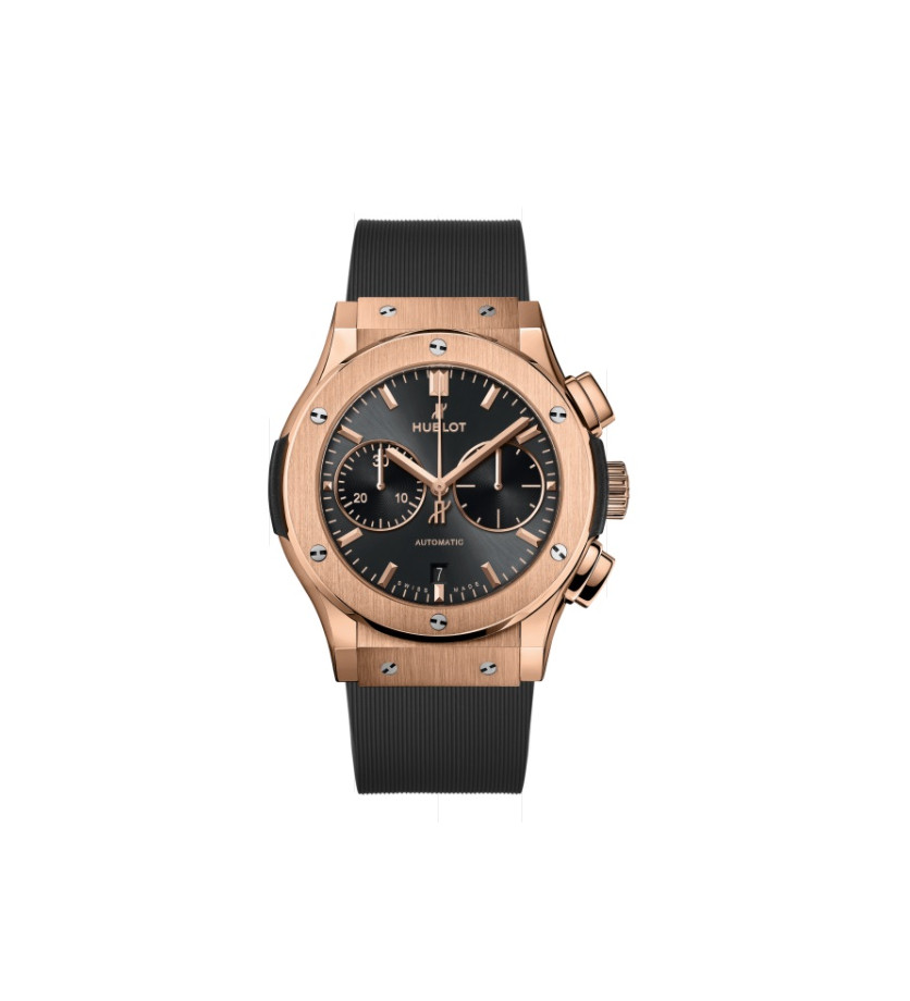 Montre Classic Fusion Racing Grey Chronograph King Gold 45 mm