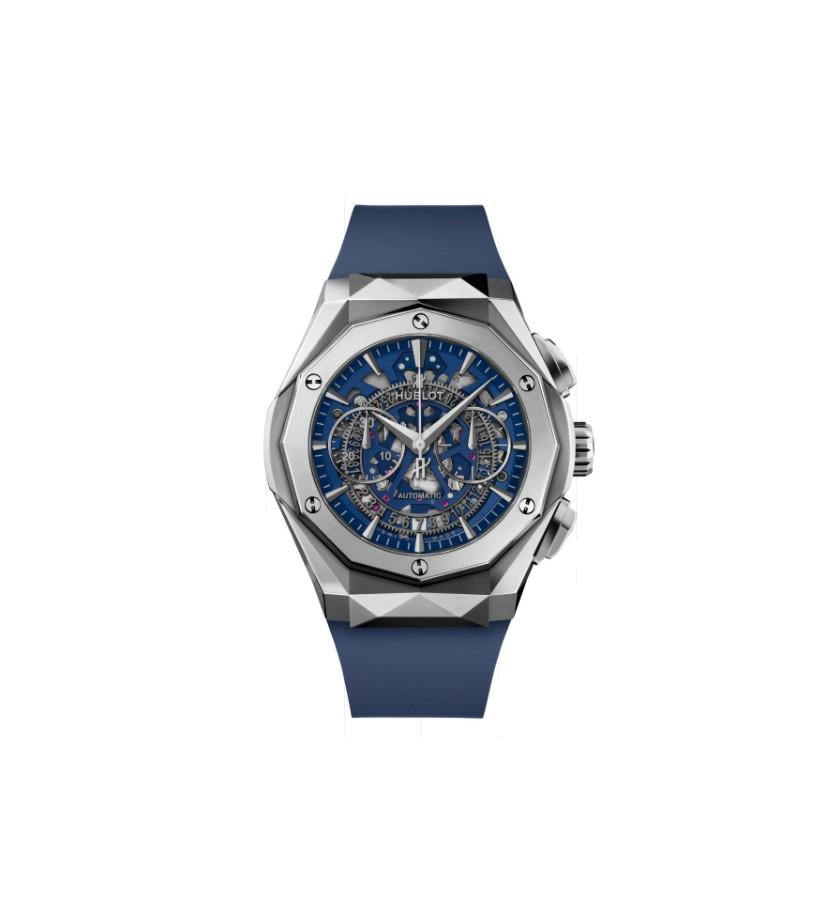 Montre Classic Fusion Aerofusion Chronograph Orlinski Titanium Blue 45 mm