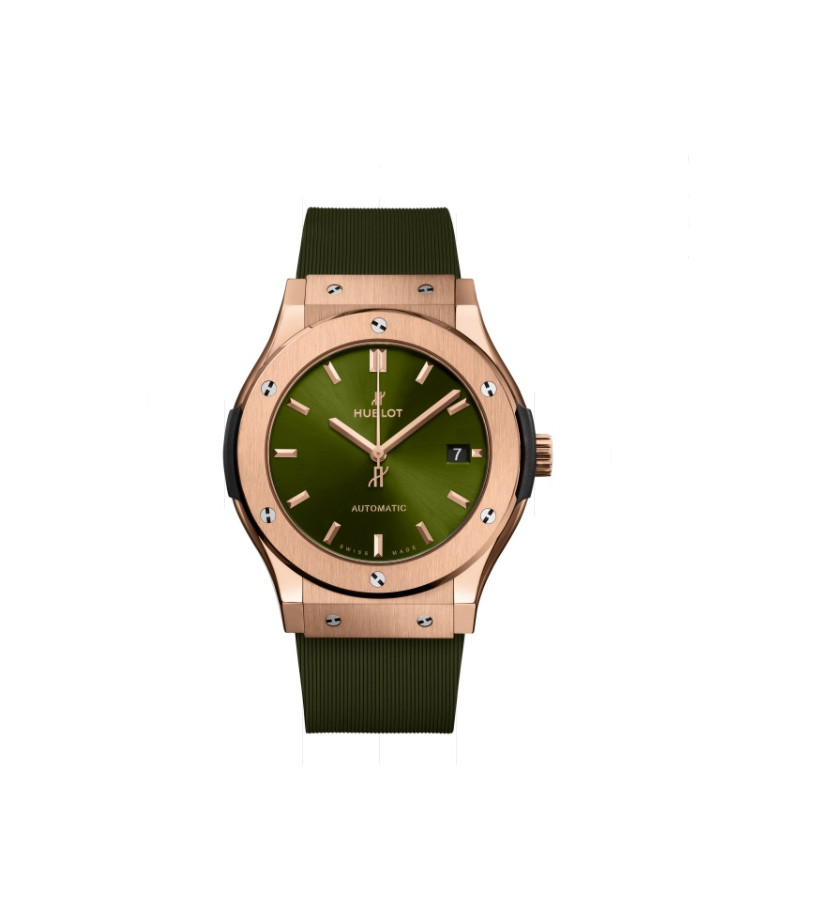 Montre Classic Fusion King Gold Green 42 mm